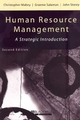 Human Resource Management: A Strategic Introduction, 2nd Edition (0631208232) cover image