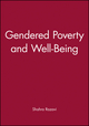 Gendered Poverty and Well-Being (0631217932) cover image