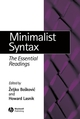 Minimalist Syntax: The Essential Readings (0631233032) cover image
