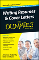 Writing Resumes and Cover Letters For Dummies, 2nd Australian & New Zealand Edition (0730307832) cover image