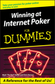 Winning at Internet Poker For Dummies (0764578332) cover image