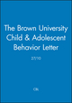 The Brown University Child & Adolescent Behavior Letter, 27/10 (1118020332) cover image
