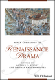 A New Companion to Renaissance Drama (1118824032) cover image