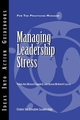 Managing Leadership Stress (1604910232) cover image