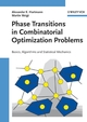 Phase Transitions in Combinatorial Optimization Problems: Basics, Algorithms and Statistical Mechanics (3527404732) cover image