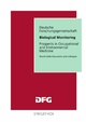 Biological Monitoring: Prospects in Occupational and Environmental Medicine (3527621032) cover image