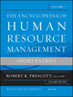 The Encyclopedia of Human Resource Management, Volume 1: Short Entries (0470257733) cover image