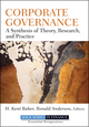 Corporate Governance: A Synthesis of Theory, Research, and Practice  (0470499133) cover image
