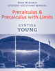 Precalculus, Student Solutions Manual  (0470532033) cover image