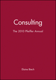 The 2010 Pfeiffer Annual: Consulting (0470907533) cover image