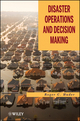 Disaster Operations and Decision Making (0470927933) cover image
