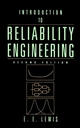 Introduction to Reliability Engineering, 2nd Edition (0471018333) cover image