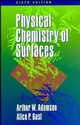 Physical Chemistry of Surfaces, 6th Edition (0471148733) cover image