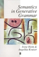 Semantics in Generative Grammar (0631197133) cover image
