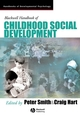 Blackwell Handbook of Childhood Social Development (0631217533) cover image