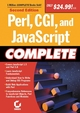 Perl, CGI, and JavaScript Complete, 2nd Edition (0782142133) cover image