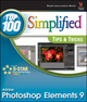 Photoshop Elements 9: Top 100 Simplified Tips and Tricks (1118036433) cover image
