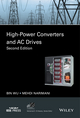 High-Power Converters and AC Drives, 2nd Edition (1119156033) cover image