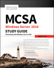 MCSA Windows Server 2016 Study Guide: Exam 70-741 (1119359333) cover image