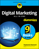 Digital Marketing All-In-One For Dummies (1119560233) cover image
