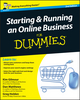 Starting and Running an Online Business For Dummies, 2nd UK Edition (1119994233) cover image