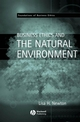 Business Ethics and the Natural Environment (1405116633) cover image