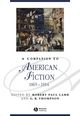 A Companion to American Fiction 1865 - 1914 (1405195533) cover image