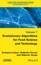 Evolutionary Algorithms for Food Science and Technology (1848218133) cover image