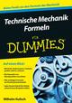 Technische Mechanik Formeln für Dummies (3527692533) cover image