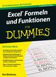 Excel Formeln und Funktionen für Dummies, 3. Auflage (3527802533) cover image