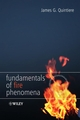 Fundamentals of Fire Phenomena (0470091134) cover image