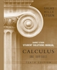 Student Solutions Manual for Calculus: One Variable, 10e (Chapters 1 - 12)