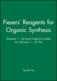 Fiesers' Reagents for Organic Synthesis, Volumes 1 - 24 and Collective Index for Volumes 1 - 22 Set (0470431334) cover image