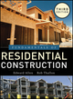 Fundamentals of Residential Construction, 3rd Edition (0470540834) cover image