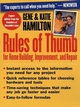 Rules of Thumb for Home Building, Improvement, and Repair (0471309834) cover image