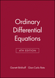 Ordinary Differential Equations, 4th Edition (0471860034) cover image