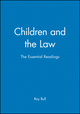 Children and the Law: The Essential Readings (0631226834) cover image