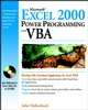 Microsoft Excel 2000 Power Programming with VBA (0764532634) cover image