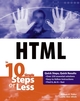 HTML in 10 Simple Steps or Less (0764541234) cover image