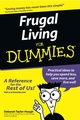 Frugal Living For Dummies (0764554034) cover image