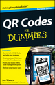QR Codes For Dummies, Portable Edition (1118337034) cover image