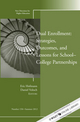 Dual Enrollment: Strategies, Outcomes, and Lessons for School-College Partnerships: New Directions for Higher Education, Number 158 (1118405234) cover image