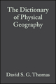 The Dictionary of Physical Geography, 3rd Edition (1118687434) cover image