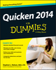 Quicken 2014 For Dummies (1118720334) cover image