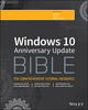 Windows 10 Anniversary Update Bible (1119356334) cover image
