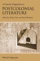 A Concise Companion to Postcolonial Literature (1405135034) cover image