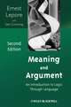 Meaning and Argument: An Introduction to Logic Through Language, 2nd Edition (1405196734) cover image