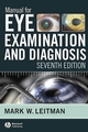 Manual for Eye Examination and Diagnosis, 7th Edition (1444312634) cover image