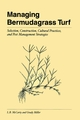 Managing Bermudagrass Turf: Selection, Construction, Cultural Practices, and Pest Management Strategies (1575041634) cover image