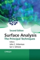 Surface Analysis: The Principal Techniques, 2nd Edition (0470017635) cover image